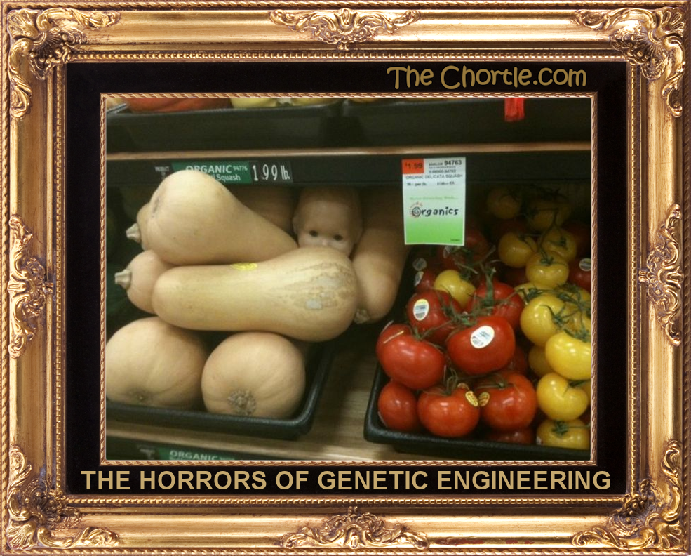 the horrors of genetic engineering Brave new world are refused any opportunity to plan their own property, change  loss of identity is in large part the result of genetic engineering.