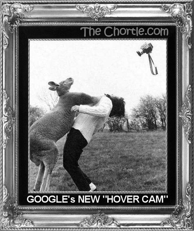 "Google's new ""Hover Cam"""
